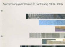 Ghisleni Auszeichnung Für Gute Bauten Kanton Zug 1995 2005 Titelbild