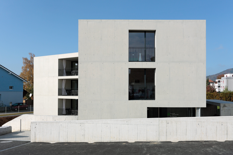 Ghisleni Projekt Reihnau Wohnhaus